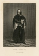 Edwin Forrest as Shylock [in Shakespeare's Merchant of Venice] [graphic] / D.G. Thompson [sculp.].