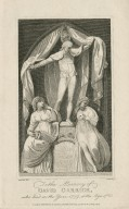 To the memory of David Garrick, who died in the year 1779, at the age of 63 [graphic] / Stothard del. ; Audinete [sic] fc.