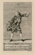 Mr. Garrick als Macbeth [in Shakespeare's Macbeth] [graphic] / Liebe fect.