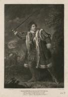 Garrick as Richard the Third ... [graphic] / Zoffany pinxt. ; H. Dawe sculp.