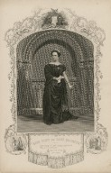 Miss Glyn as Lady Macbeth ... [in Shakespeare's] Macbeth, act 1, scene 5 [graphic].