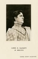 James K. Hackett as Mercutio [in Shakespeare's Romeo and Juliet] [graphic].