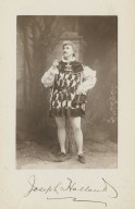 Jos. Holland as Hortensio [in Shakespeare's Taming of the shrew] [graphic].