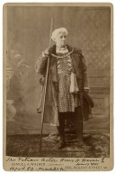 The veteran actor Henry H. Howe in Henry VIII [by Shakespeare], aged 80, March 31, '92 [graphic] / Samuel A. Walker.