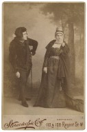 [Richard Mansfield and Beatrice Cameron in Shakespeare's King Richard III] [graphic] / Stereoscopic Coy.