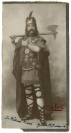 [R.B. Mantell as Macbeth in Shakespeare's play, Macbeth] To William Winter yours R.B. Mantell [graphic].