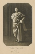 R.B. Mantell as Romeo [in Shakespeare's Romeo and Juliet] [graphic] / Baker.