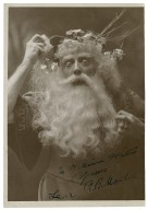 Mantell as King Lear [in Shakespeare's King Lear] To William Winter Yours R. B. Mantell. Lear. [graphic].