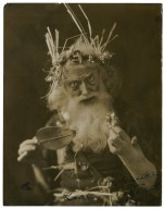 [R.B. Mantell as] Lear [in Shakespeare's King Lear] To William Winter Yours R.B. Mantell [graphic].