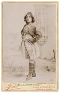 Julia Marlowe Taber [as Imogen in Shakespeare's Cymbeline] [graphic] / copyright 1894 by B.J. Falk.
