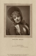 Miss Kate Santley: 'And therefore Kate take this of me, Kate of my consolation,' Taming of the shrew [graphic] / from a photograph taken specially for 'The Theatre' by the St. James's Photographic Company, 72, Piccadilly, W.
