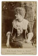 "Miss Ellen Terry as ""Olivia"" [in Shakespeare's Twelfth night] [graphic] / Window & Grove."