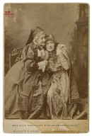 """Miss Ellen Terry and Mrs. Stirling in """"Romeo and Juliet"""" [graphic] / Window & Grove."""