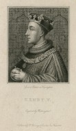 From a picture at Kensington, Henry V [graphic] / engraved by Worthington.