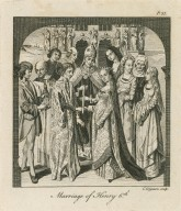 Marriage of Henry 6th [graphic] / C. Grignion sculp.