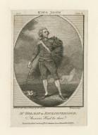 Mr. Holman in Faulconbridge ... [in Shakespeare's King John] [graphic] / M. Brown, del. ; [Richard] Woodman, sculpt.