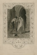 As you like it, act 1, sc. 2 [graphic] / engraved by F.F. Walker, from the original painting by H. Warren.