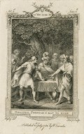 As you like it, act 2nd, scene 6th, Orlando: Forbear & eat no more [graphic] / Ryley, del. ; Sharp, sculp.