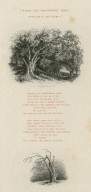 Under the greenwood tree, As you like it, act 2, scene 5 ... who loves to lie with me, and tune his merry note, unto the sweet bird's throat ... [graphic] / Thos. Creswick, A.R.A.