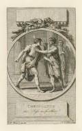 Coriolanus, sic: Pass no further! [graphic] / J. M. Moreau le jeune Inv. ; N. le Mire sculp.