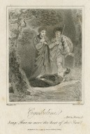 Cymbeline, act 4, scene 5 [i.e. 2], song: Fear no more the beat of the sun [graphic] / Thurston del. ; Hopwood sculp.