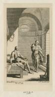[Cymbeline] act V, sc. iv [graphic] / H. Gravelot, in. ; G. Vrd [sic] Gucht, scul.