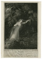 Hamlet, act 4, scene 7, Ophelia [graphic] / painted by R. Westall R.A. ; engraved by Jas. Parker.