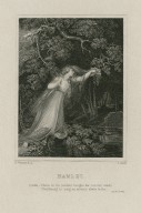 Hamlet, act 4, scene 7, Ophelia [graphic] / painted by R. Westall R.A. ; eng. by C. Heath.