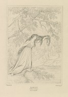 Hamlet, act 4, scene 7, Ophelia [graphic] / painted by R. Westall R.A. ; engr. by Starling.