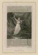 Shakspeare: Hamlet ... act IV, sc. 7 [graphic] / drawn by T. Uwins ; engrav'd by C. Warren.