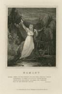 Hamlet, ... act IV, sc. 7 [Ophelia's death] [graphic] / [Thomas Uwins].