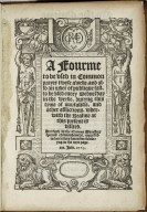 [Liturgies. Special forms of prayer (General, 1563)] A fourme to be vsed in common prayer twyse aweke...