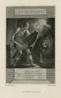 Shakespeare, Julius Caesar, Cas.: Against the capitol I met a lion ... act I, sc. 3 [graphic] / drawn by H. Tresham R.A. ; engrav'd by C. Warren.