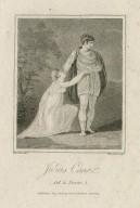 Julius Caesar, act 2, scene 1 [Portia & Brutus] [graphic] / Thurston, delt. ; Hopwood, sculpt.