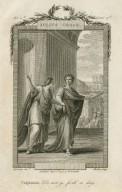 Julius Caesar, Calphurnia: Do not go forth today, act 2d scene 3d [ie.2] [graphic] / Cipriani, invt. ; Heath, sculp.