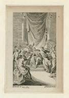 [Julius Caesar, act III, sc. 1] [graphic] / H. Gravelot, in. ; G. Vander Gucht, scul.