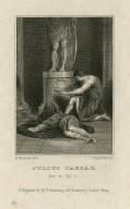 Julius Caesar, act 3, sc. 1 [Antony with the body of Caesar] [graphic] / R. Westall R.A. ; Aug. Fox sc.