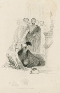 Julius Caesar, act 3 sc. 1, Antony: How like a deer, stricken by many princes, Dost thou here lie! [graphic] / [Joseph Kenny Meadows].