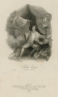 Julius Caesar, act 4, sc.3 [Brutus & the ghost of Caesar] [graphic] / painted by W.M. Craig ; engraved by J. Phelps.