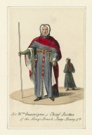 [Costume designs for 21 different costumes in Shakespeare's King Henry IV, parts 1 & 2] [graphic].