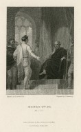 Henry 4th pt. 1, act 1, sc. 3 [graphic] / painted by R. Smirke R.A. ; engraved by C. Armstrong.
