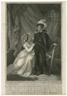 [First part of King Henry IV, act 2, scene 3, Hotspur and Lady Percy] [graphic] / Smirke, del. ; engraved by I. Nealge.