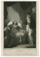 Second part of King Henry IV, act 4, scene 4 [i.e. 5], King Henry & the Prince of Wales [graphic] / painted by Robt. Smirke, R.A. ; engraved by W.C. Wilson.