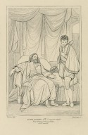King Henry 4th, (second part), King Henry & the Prince of Wales, act IV, scene IV [i.e. 5] [graphic] / Smirke, del. ; Starling, sc.