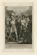 Henry V ... rather proclaim it, Westmorland, act IV, scene III [graphic] / drawn by C. Heath ; engraved by Pye.