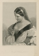 Princess Katherine of France, [character in] Henry Vth [graphic] / J.W. Wright ; W.H. Mote.