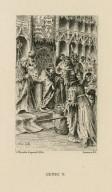 Henri V [act I, scene 2] [graphic] / L. Monziès d'après H. Pille.