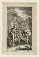 [King Henry V, act IV, scene 1] [graphic] / H. Gravelot, del. ; G. Vdr. Gucht, scul.