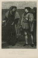 The two roses ... Hath not thy rose a canker, Somerset? ... Hath not thy rose a thorn, Plantagenet? ... Henry VI, part 1, act II, scene IV [graphic] / J.D. Watson pinxt. ; T. Sherratt sculpt.