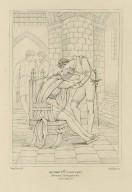 Henry 6th (first part), Mortimer, Plantagenet &c. act II, scene V [graphic] / Hamilton, del. ; Starling, sc.